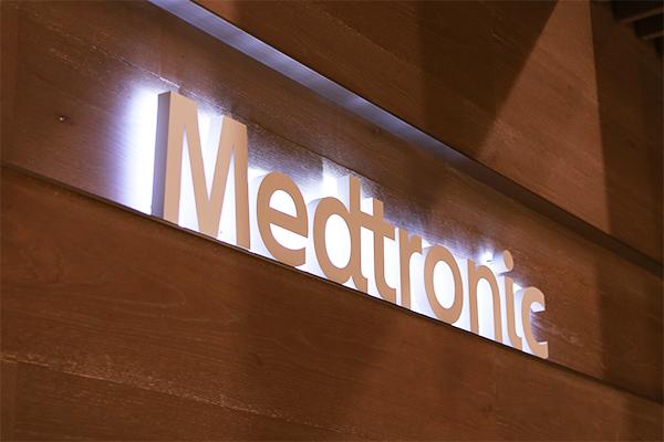 メドトロニックの企業ロゴ画像